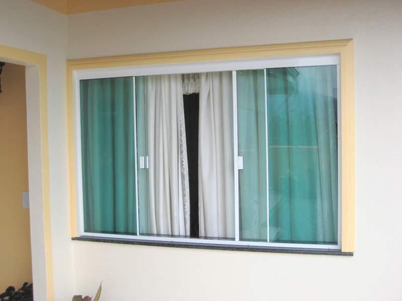 janela de alumínio com vidro preço
