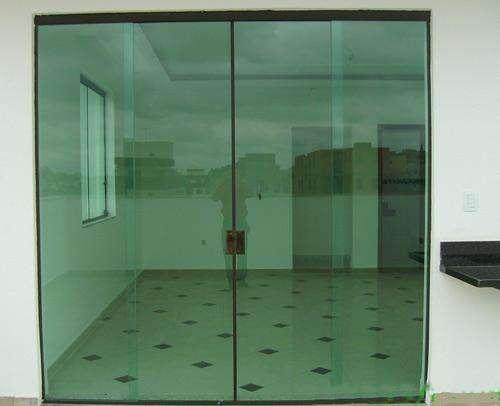 porta de vidro blindex preço